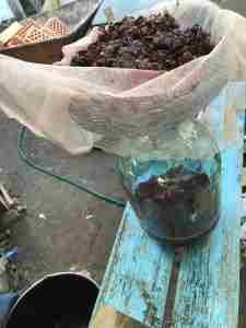 Виноградный сок из подручных средств