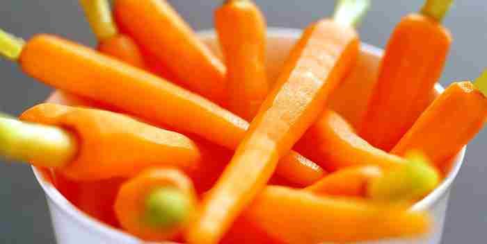 Маленькая морковь