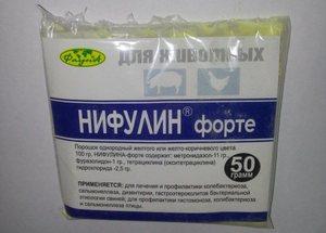 Как применять препарат нифулин